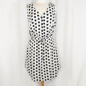Mimi Chica Sleeveless Cat Print Dress